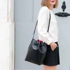 The Working Girl wearing our Tara sweater #tara_jarmon #theworkinggirl