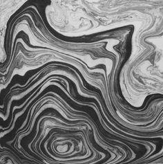 Suminagashi Monoprint - One-of-a-kind Original on Etsy, $20.76 AUD