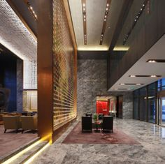 Conrad Hotel in Beijing, China. Architectural project: MAD Architects - Lighting…