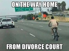 Lighten up and make your day better with these hilarious divorce memes. Haha Funny, Funny Memes, Hilarious, Jokes, Lol, Funny Stuff, Funny Shit, Funny Things, Random Stuff