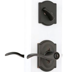 Inspirational Schlage Camelot Aged Bronze Single Lock Keyed Entry Door Handleset