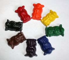 Very Old Very Wise Teacher Crayons  Set of 8 by extramoneyformommy, $6.00 Also, R2D2 crayons and lego guy crayons!  woohoo!