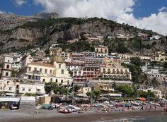 Guide to the Amalfi Coast's Colorful Positano: Positano Town and Beach