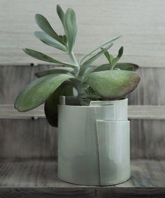 Porcelain Planter - Tiered Collection - Circular