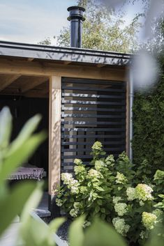 Pergola Over Garage Door Pergola, Backyard Patio Designs, Backyard Landscaping, Garden Buildings, Garden Gates, Back Gardens, Outdoor Areas, Garden Inspiration, Outdoor Living