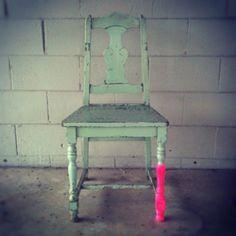 Neon Vintage Chair  :D