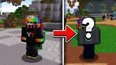 I changed my MINECRAFT SKIN... View Video, Mini Games, Minecraft Skins, Change Me, Red Bull