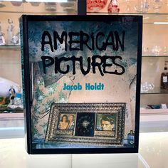 American Pictures by Jacob Holdt RARE PHOTO BOOK signed 1985
