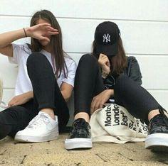 Idea para una foto con una amiga