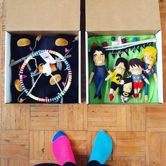Shipping off some ninjas and mini-folks today!
