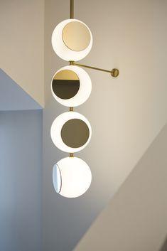 Flynn Talbot is an Australian lighting artist and designer based in London, UK. Artwork Lighting, Interior Lighting, Modern Lighting, Lighting Design, Task Lighting, Lighting Ideas, Ceiling Light Design, Ceiling Lamp, Wall Lamps