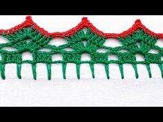 Barrado natalino para pano de prato - YouTube Crochet Bikini, Youtube, Painting, Dish Towels, Plain Cake, Holiday Crochet, Crochet Edgings, Dots, Tejidos