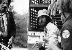 Tobe Hooper on the set of The Texas Chainsaw Massacre (1974) - Danger: Diabolik