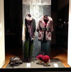 MARCO LONGONI | via Plinio   #ShopWindows #latendamilano #boutique #fall13 #FW13 #womenswear #MadeinItaly Shop Windows, Fur Coat, Boutique, Shopping, Fashion, Moda, Fashion Styles, Store Windows, Fashion Illustrations