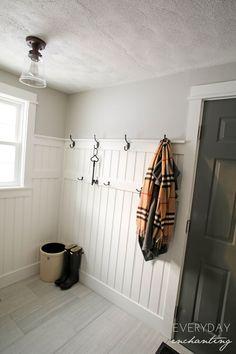 Laundry Closet Makeover Hallways