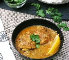 Coconut Chicken with East African Flavors: Tender chicken thighs simmered in a spicy coconut curry sauce Turkey Recipes, Chicken Recipes, Dinner Recipes, Recipe Chicken, Dinner Ideas, Banane Plantain, Tanzania Food, Coconut Curry Sauce, Coconut Chicken