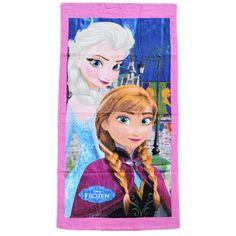 Παιδική πετσέτα Frozen με φουξ μπορντούρα