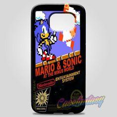 Super Mario Bros And Sonic At The Minus World Samsung Galaxy Note 8 Case | casefantasy