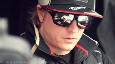 Kimi Räikkönen signs for the fans ahead of the Australian Grand Prix