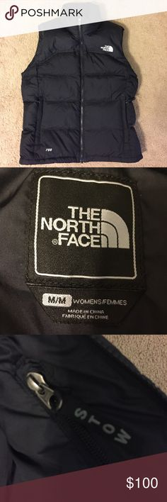 The North Face Black Nuptse Vest EUC. Worn only once. Amply insulated with 700-fill goose down, this iconic vest is extremely warm, lightweight, and highly compressible for travel. Ideal as both a stand-alone layer in cool conditions or worn under a waterproof shell during cold rain showers. Brushed collar lining makes it super comfy. The North Face Jackets & Coats Vests