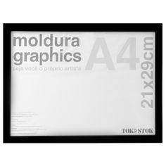 GRAPHICS KIT MOLDURA A4 21X29 - Tok&Stok