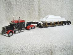 1 64 custom Semi Tractor/Trailers Sets