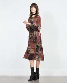 ZARA - WOMAN - PATCHWORK DRESS