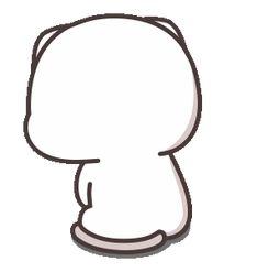 Cute Couple Cartoon, Cute Cartoon Pictures, Cute Love Pictures, Cute Love Memes, Cute Love Gif, Cute Love Cartoons, Cute Cat Gif, Cute Bear Drawings, Cute Animal Drawings Kawaii