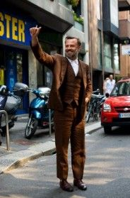 A Visual Lesson In How A Suit Should Fit A Young Man, Milan « The Sartorialist