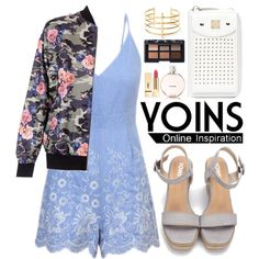 Yoins by oshint on Polyvore featuring BauXo, NARS Cosmetics, Yves Saint Laurent, Chanel, yoins, yoinscollection and loveyoins