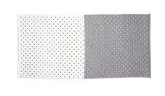 Bath Towel - Grey/White - Interior Accessories