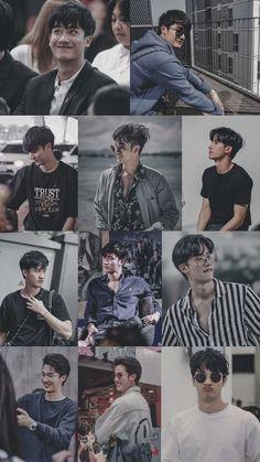 Boys Wallpaper, Screen Wallpaper, Iphone Wallpaper, Boyfriend Photos, Cute Asian Guys, Exo Fan, Actor Photo, Thai Drama, Tumblr Boys