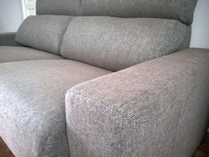 3 seater Firenze with under storage in grey fabric. This sofa is configured to have a narrow arms. Delivered to our client in Byfleet, Surrey. Sofa Ideas, Contemporary Sofa, Grey Fabric, Surrey, Mumbai, Sofas, Arms, Couch, Storage