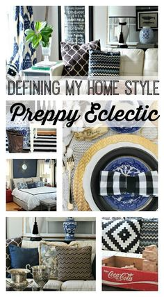 Home decorating ideas - My Home Style: Preppy Eclectic   Southern State of Mind