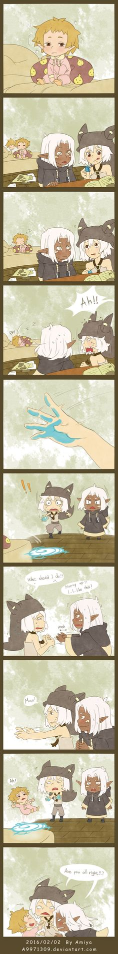 Wakfu short comic - Brothers're daily by a9971309 on DeviantArt