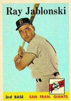 1958 Topps #362 Ray Jablonski Front