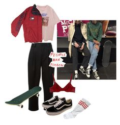 """""""Chamber of reflection"""" by martatbh ❤ liked on Polyvore featuring RED Valentino, Vans and Eres"""