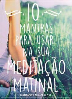 O período da manhã é o melhor momento para a meditação, uma vez que ajuda a prepará-lo para começar um novo dia completamente estimulado e renovado. E a melhor maneira de entrar em um estado meditativo é praticando mantras. Breathing Meditation, Reiki Meditation, Meditation Quotes, Quotes Thoughts, Life Quotes Love, Change Quotes, Quotes Quotes, Yoga Mantras, Mudras