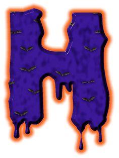 Alfabeto de murcielagos...H