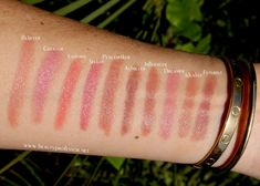 Hourglass Girl Lip Style Swatches on Beauty Professor http://www.beautyprofessor.net/2017/01/hourglass-girl-lip-stylo-review.html