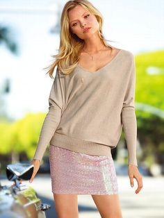 NEW! Sequin Miniskirt #VictoriasSecret http://www.victoriassecret.com/clothing/new-for-spring/sequin-miniskirt?ProductID=100418=OLS?cm_mmc=pinterest-_-product-_-x-_-x