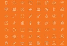 Featured freebie containing 90 free outline icons that you can use in your web…