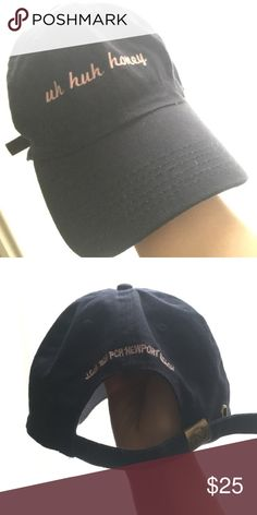 blue and pink uh huh honey hat very popular hat from pacsun never worn out doors PacSun Accessories Hats