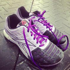 CrossFit Julie Foucher lavender shoes Reebok Nanos 3.0