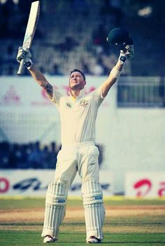 Michael Clarke steps up, and not for the first time, to steady his team's ship. Congratulations on yet another century.