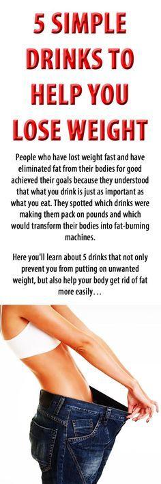 5 SIMPLE DRINKS TO HELP YOU LOSE WEIGHT. #weightloss #loseweight #burnfat #weightlossdrink #boostmetabolism #increasemetabolism