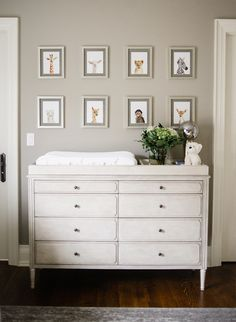 Elegant Grey Nursery for Twins - Inspired By This