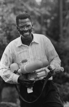 This NASA engineer invented the Super Soaker: Lonnie G. Johnson   African American Inventors   Scholastic.com