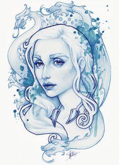 Mother+of+dragons+by+Medusa-Dollmaker.deviantart.com+on+@DeviantArt Game of Thrones