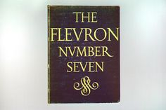 The Fleuron VII, 1929. Cover by Jan van Krimpen